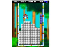 Sonic Box Tetris Game